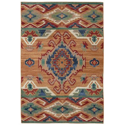 Destinations Roswell Marigold Area Rug Rug Size: Rectangle 53 x 710