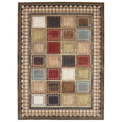 Destinations Cheyenne Multicolor Area Rug Rug Size: Rectangle 96 x 1211