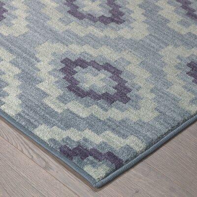 Paulette Blue Area Rug Rug Size: 53 x 710