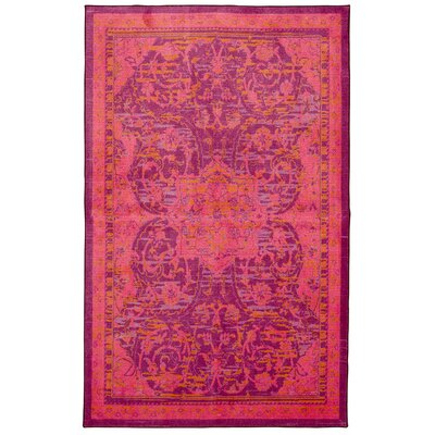Damarion Pink Area Rug Rug Size: Rectangle 76 x 10