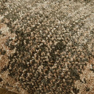 Suzani Tapertry Brown Area Rug Rug Size: 53 x 710