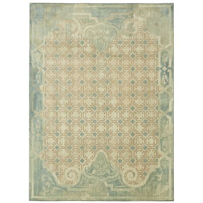 Lakeside Cottage Beige Area Rug Rug Size: Rectangle 53 x 710