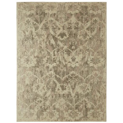 Luminous Beige Area Rug Rug Size: Rectangle 5'3