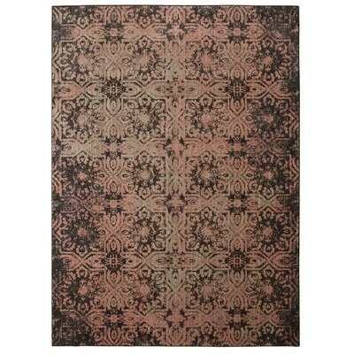 Cloisters Blush Pink and Grey Area Rug Rug Size: Rectangle 8 x 10