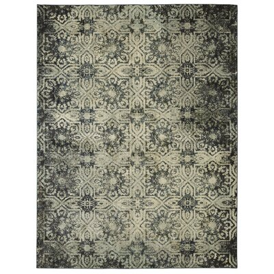 Cloisters Aqua Area Rug Rug Size: Rectangle 53 x 710