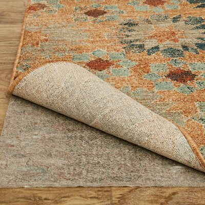 Studio in Bloom Orange Area Rug Rug Size: Rectangle 5'3