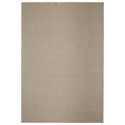 Bettie Soft Ash Area Rug Rug Size: 6 x 9