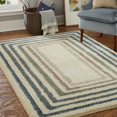 Bettie Beige Area Rug Rug Size: Rectangle 8' x 10'
