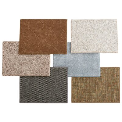 Remnants Assorted 6 Piece Area Rug Set