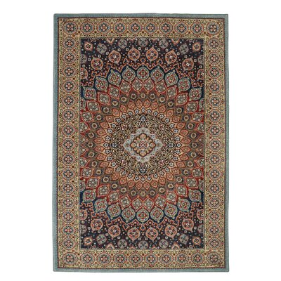 Kartal Brown/Blue Area Rug Rug Size: Rectangle 8 x 11