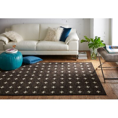 Maloree Brown Area Rug Rug Size: 5 x 8