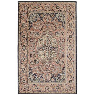 Kavya Indigo/Blue Area Rug Rug Size: Rectangle 76 x 10