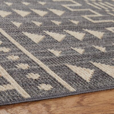 Desi Gray Area Rug Rug Size: Rectangle 76 x 10