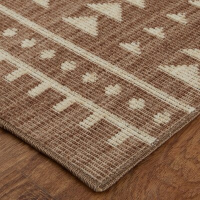 Desi Taupe Area Rug Rug Size: Rectangle 76 x 10