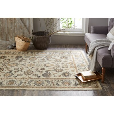 Kavya Beige Area Rug Rug Size: Rectangle 76 x 10