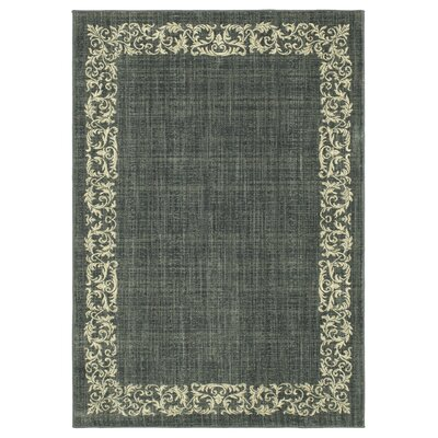 Liola Denim Area Rug Rug Size: Rectangle 53 x 76