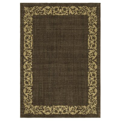 Liola Brown Area Rug Rug Size: 2 x 7.5