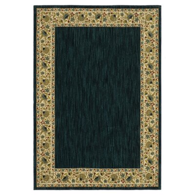 Risner Navy/Ivory Area Rug Rug Size: Rectangle 53 x 76