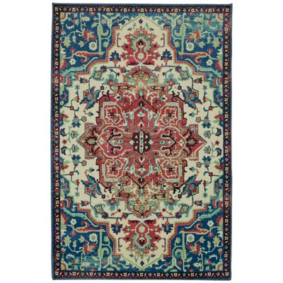 Edinboro Blue Area Rug Rug Size: Rectangle 9' x 10'