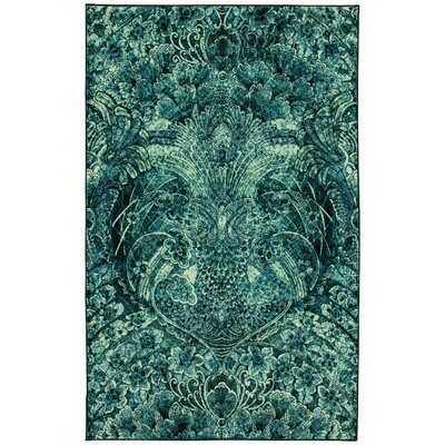 Edinboro Navy Area Rug Rug Size: Rectangle 5 x 8