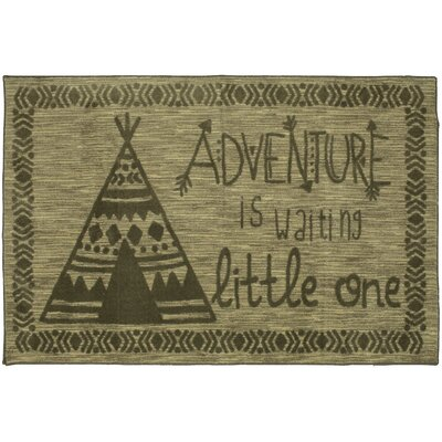 Johnston Little Adventure Gray/Taupe Area Rug