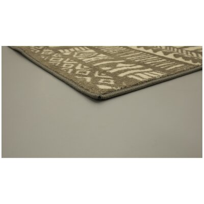 Cambrai Beige/Brown Area Rug Rug Size: Rectangle 76 x 10