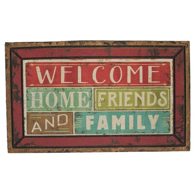 Luby Family Shine Welcome Doormat