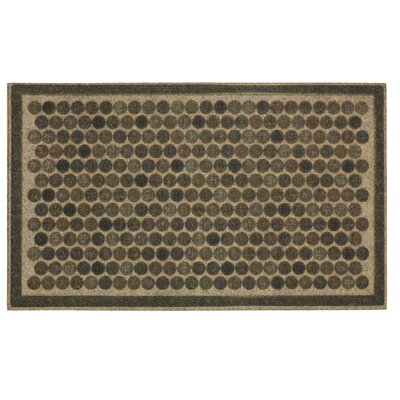 Griffeth Colorful Dots Ornamental Doormat