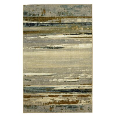 Stewart Gray Area Rug Rug Size: Rectangle 8 x 10