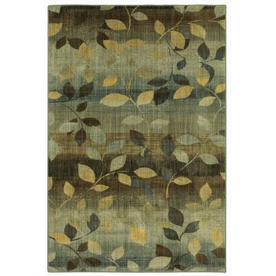 Cocchiara Dappled Sea Green Area Rug Rug Size: Rectangle 8 x 11