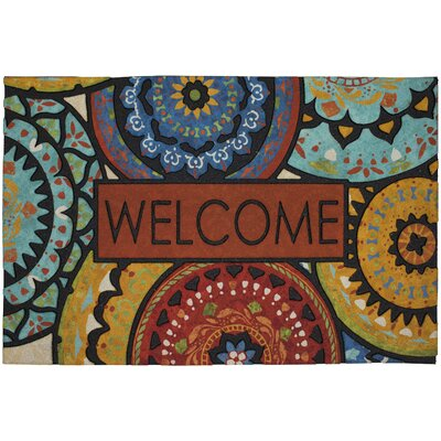 Vanderhide Spanish Suzani Welcome Doorscapes Estate Doormat