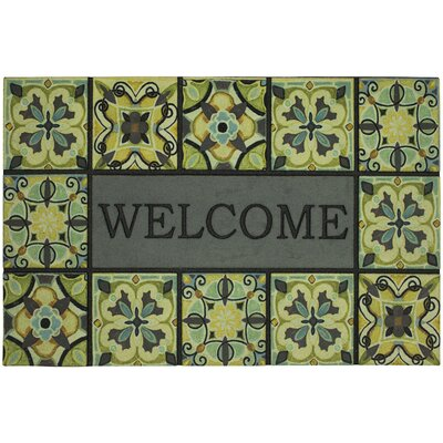 Macrae Welcome Bohemian Tiles Doormat