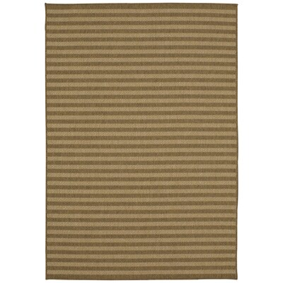 Engasser Indoor/Outdoor Tan Area Rug Rug Size: Rectangle 53 x 76