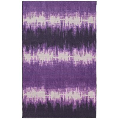 Ranstead Purple Area Rug Rug Size: Rectangle 8 x 10