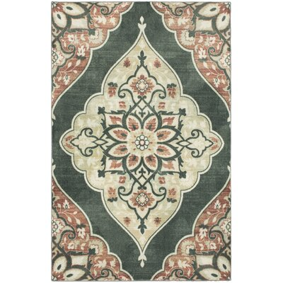 Carrick Brown/Gray Area Rug Rug Size: Rectangle 8 x 10