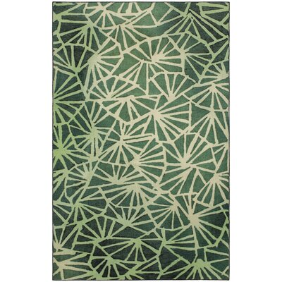 Balch Forest Green Area Rug Rug Size: Rectangle 8 x 10