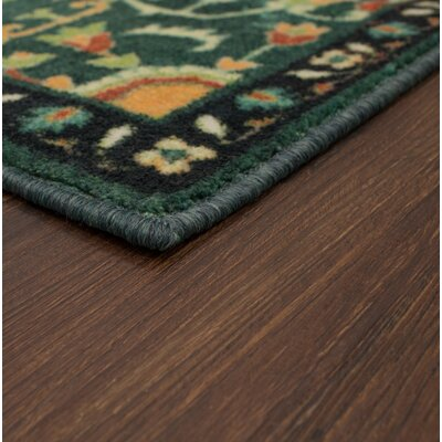 Dario Teal Area Rug Rug Size: Rectangle 5 x 8