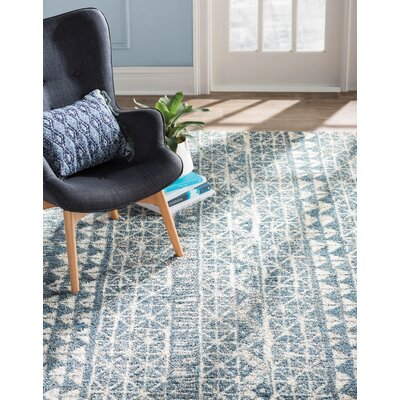Berkshire Billerica Blue Area Rug Size: Rectangle 5 x 8