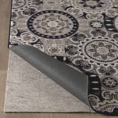 Dario Black/Gray Area Rug Rug Size: Rectangle 5 x 8
