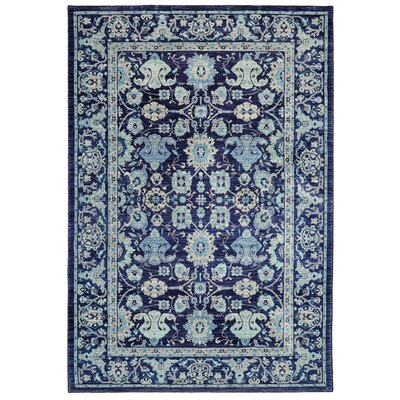 Providence Voltaire Indigo Area Rug Rug Size: 8 x 11
