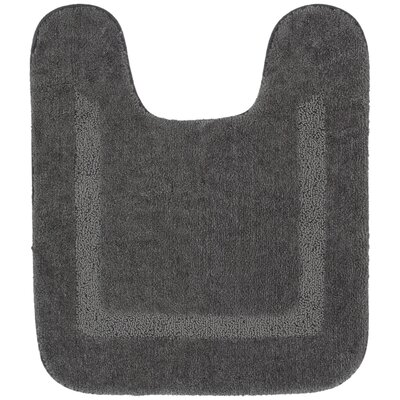 Forcade Contour Mat Color: Gray