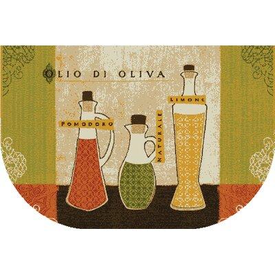 New Wave Kitchen Toscana Area Rug Rug Size: Slice 16 x 26