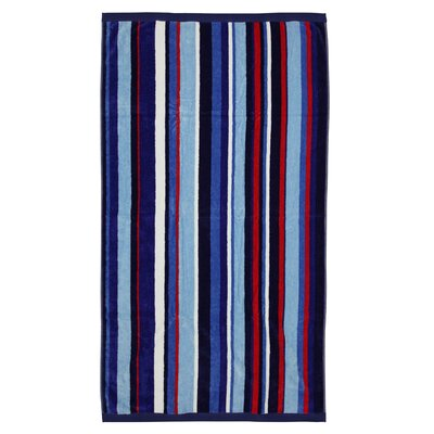 "Mohawk Imported Blue Stripe Beach Towels - Rug Size: 36"" x 68"" at Sears.com"