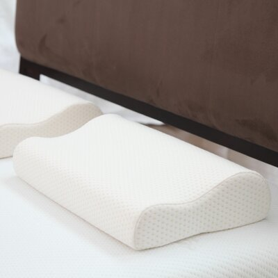 Deluxe Contour Memory Foam Standard Pillow