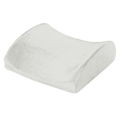Natural Pedic Lumbar Support Cushion Memory Foam Pillow
