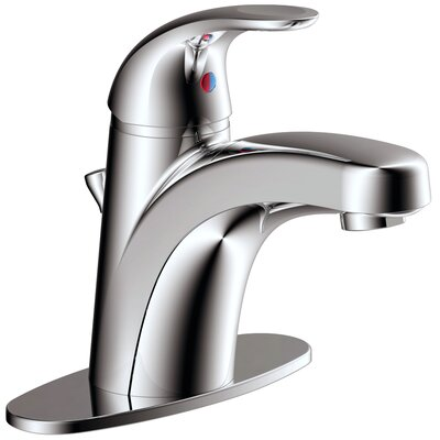 Solaro Bathroom Faucet Single Handle Finish: Chrome