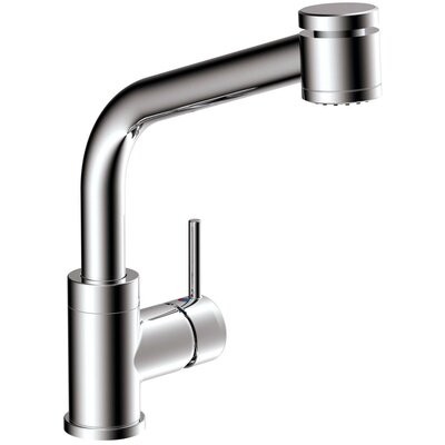 Tasimo Single Handle Kitchen Faucet with Lever Handle Finish: Chrome