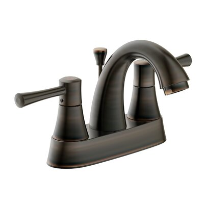 Ho Bathroom Faucet Double Handle Finish: Brushed Bronze