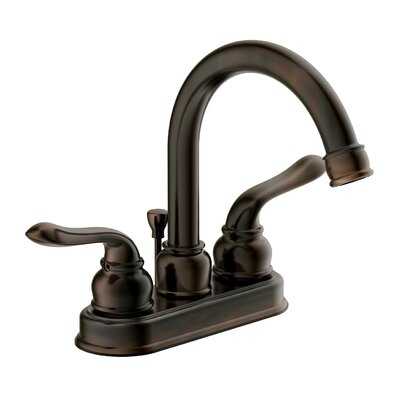 Aviano Bathroom Faucet Double Handle Finish: Brushed Bronze