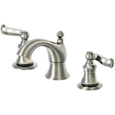 Brescia Widespread Double Handle Bathroom Faucet Finish: Brushed Nickel